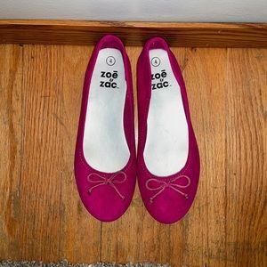 Girl's Pink Flats
